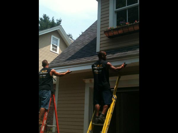 Specialty Applications Alo Seamless Gutters