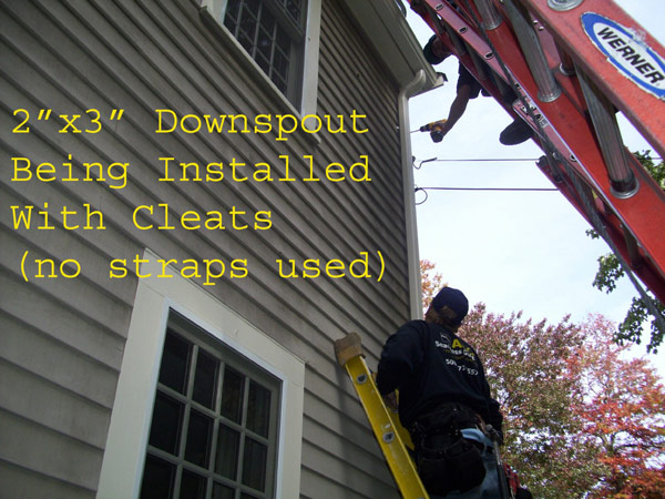 Jobsite-Downspout-Install