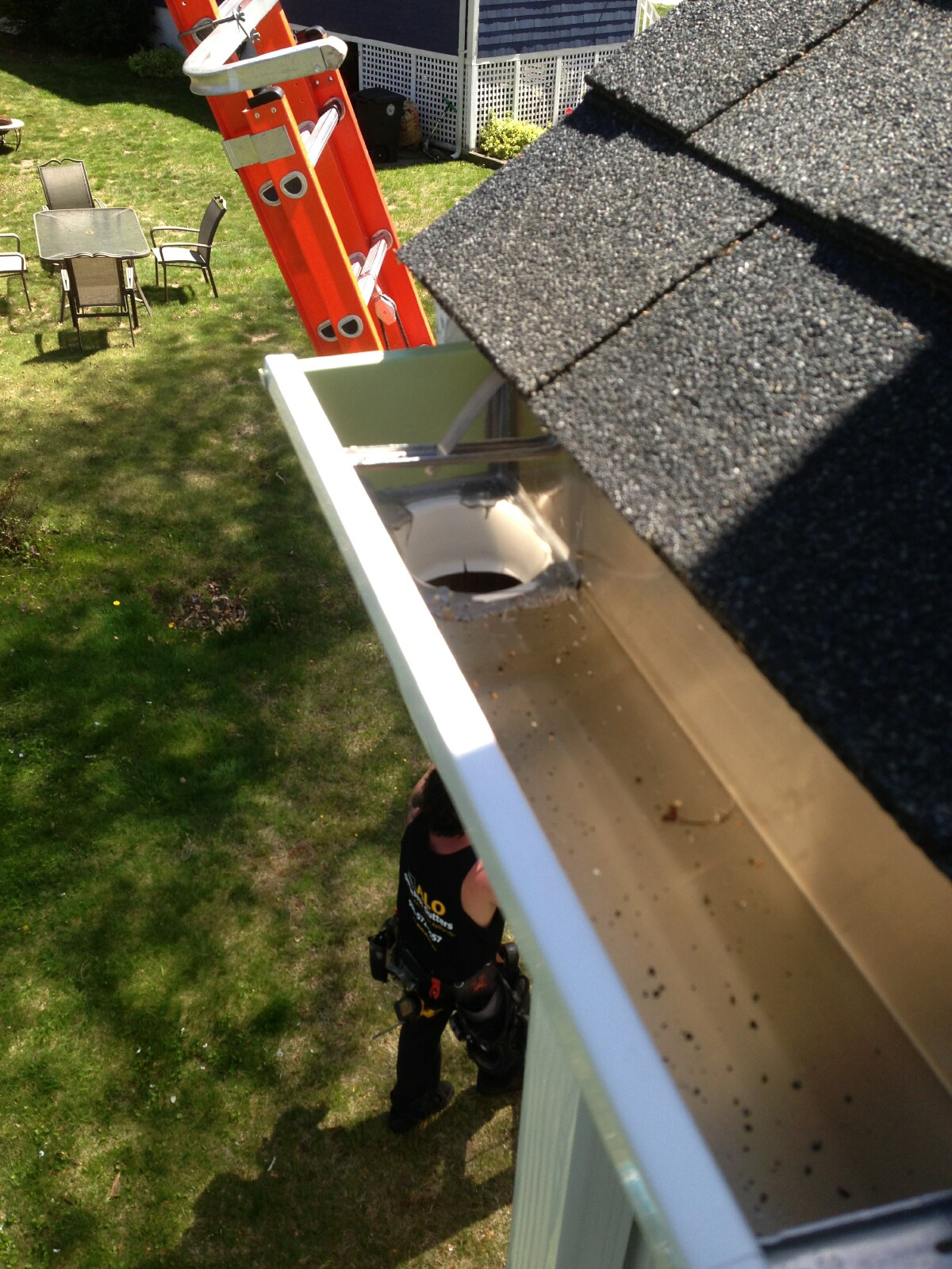 Gutters And Roof Strap Applications Alo Seamless Gutters