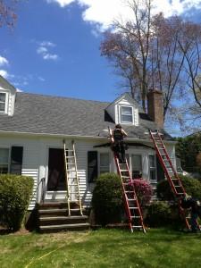 Hidden Roof Straps Going Up