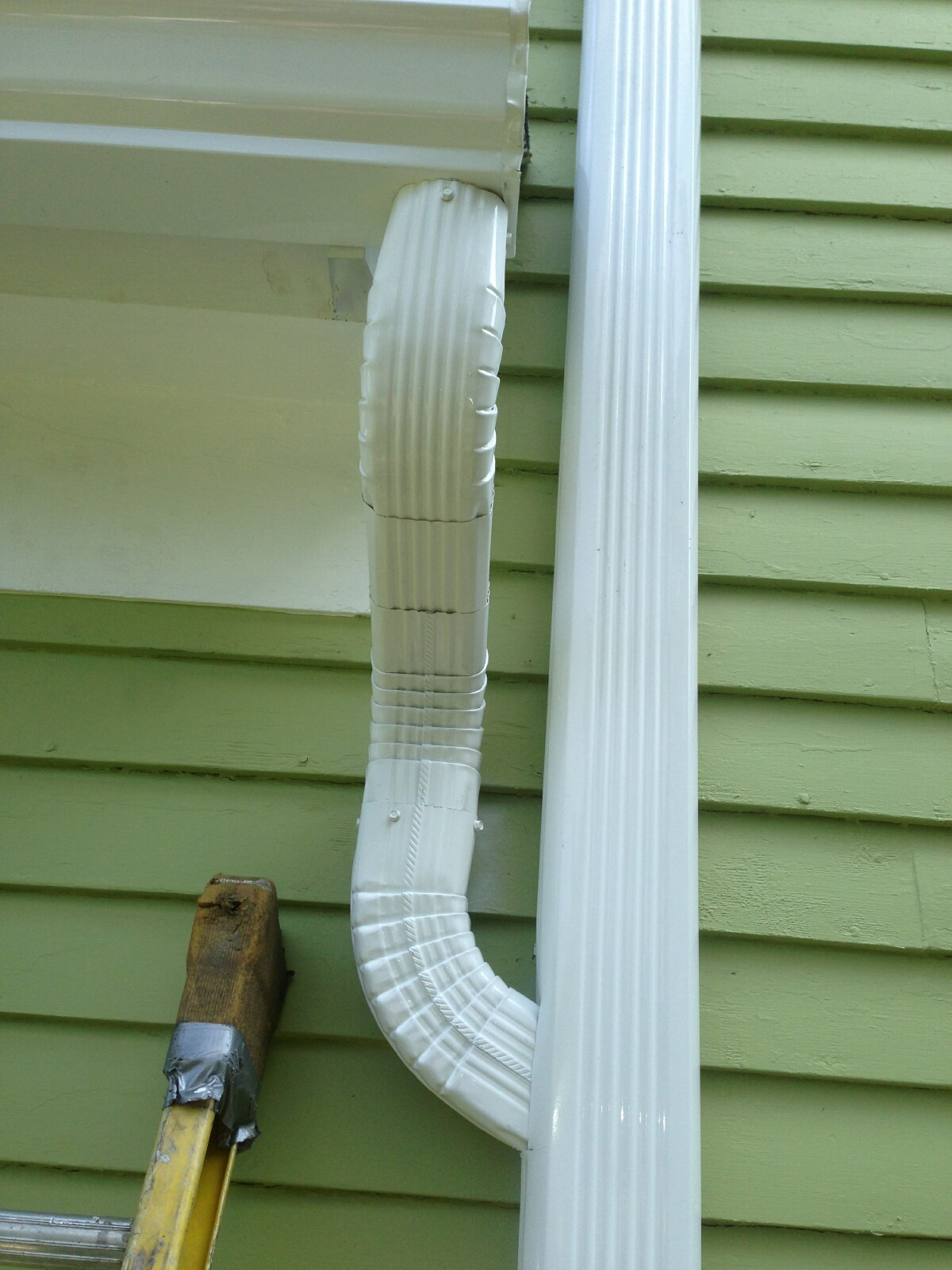 See The Following Picture Downspout Marriage