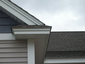 New PVC Adder Board Installed on Fascia