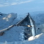 Fascia and Soffit Brought Down by Ice Dams