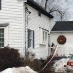 Gutter, Fascia, and Soffit Brought Down by Ice Dams