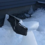 Gutter Taken Down and Mangled by Ice